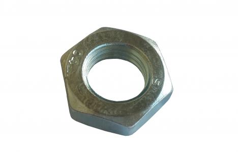 Гайка шестигранная низкая DIN 439 оцинкованная